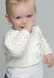DK baby crochet cardigan and bolero Peter Pan 1064 Download