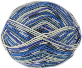 Austermann 6 ply sock yarn, 606
