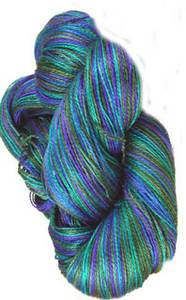 Claudia Addiction Ocean Depth 4 ply sock yarn
