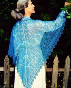 Peace shawl by Fiber Trends