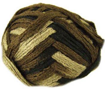 Katia Triana scarf yarn, 43 bark