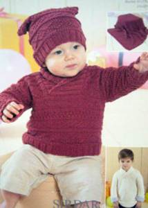 Toddler Jumper Knitting Pattern : Babies toddlers DK knitting patterns latest patterns and classic designs