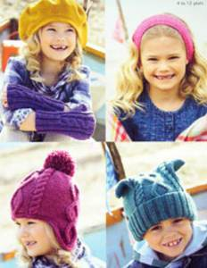 Hats, arm warmers Sirdar 2336