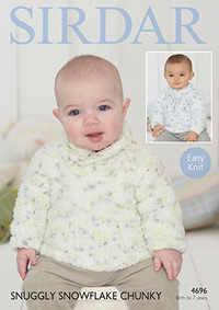 Chunky sweaters Sirdar 4696 Digital Version