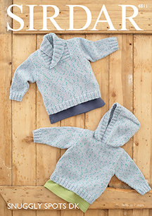 DK boys sweaters Sirdar 4811 Digital Download