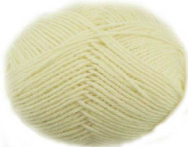 Regia 6 ply sock yarn, 1992 natural