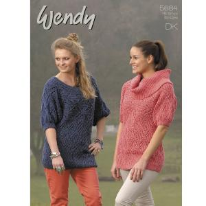 DK lacy tunics, Wendy 5684 digital version.