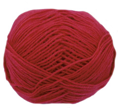 Cygnet Wool Rich 4 ply yarn, 2185, Geranium