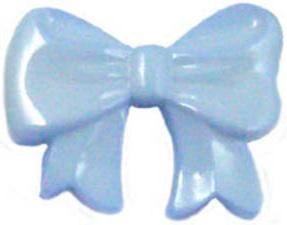 K775 Tiny Blue Bows Buttons 13cm and 18cm