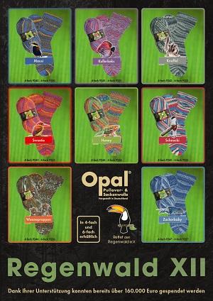 Sock Knitting Yarns 4ply 6ply Regia Opal Lornas Laces