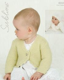 Cardigan and hat Sublime 6034