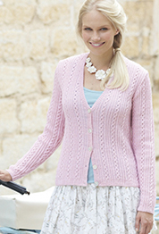 4 ply womans cardigan Sirdar 7727 Digital Download