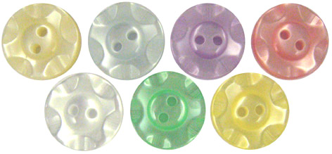 Pearly Pastel Buttons 18 (12mm)