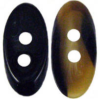 Designer Oval buttons 40mm