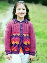 Girls Jacket Sirdar 2386