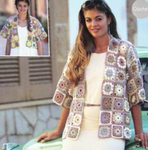 Crochet jacket Sirdar 9578
