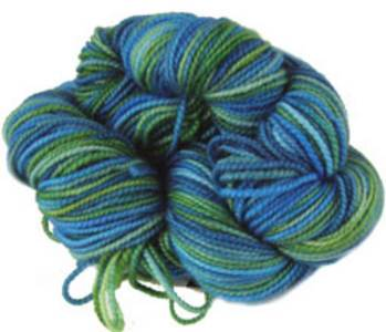 Claudia Addiction sock yarn Caribbean Blue