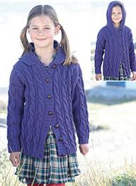 DK hooded cardigan Sirdar 2422 Digital Download