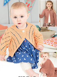 Cardigans and blanket Sirdar 4492