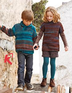 Boys and girls sweaters Katia Azteca 8