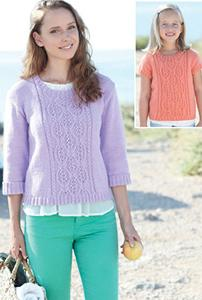 DK sweater Sirdar 7034 Digital Download