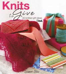 Debbie Bliss knitting book Knits to Give