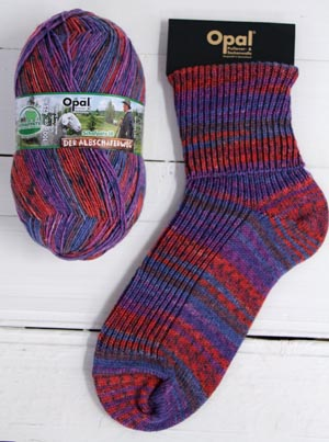 Opal sock yarn 9412 Breath Free Air Schafpate 9