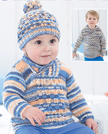 DK sweater and hat Sirdar 4800 Digital Download