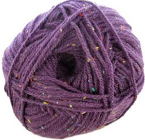 Hayfield Bonus Aran Tweed 795, Purple