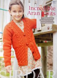 Incredible Aran Knits, Sirdar 447