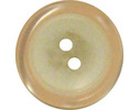 P2520. Pearly cream button. Size 32 (20.5mm)