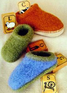 Children's felt clogs Fiber Trends CH 38