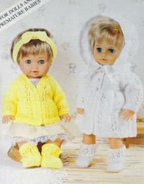 Dolls cardigan and matinee sets Patons PBND2510