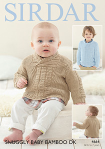 DK sweaters Sirdar 4664 Digital Version