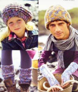 Hats, leg and arm warmers Sirdar 9313