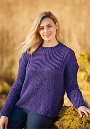 Hayfield 10076 Aran sweater Digital Download