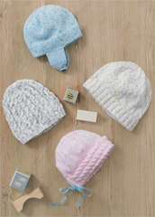 DK baby and child's hats Sirdar 4895 Digital Download