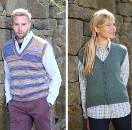 4 ply top and waistcoat Wendy 5794 digital download