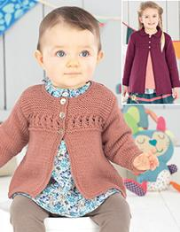Cardigan and coat Sirdar 4493