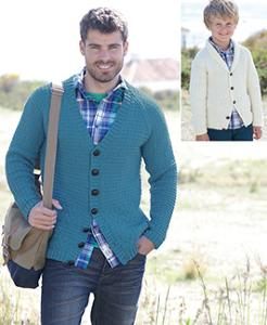 DK cardigans Sirdar 7117 Digital Download