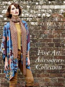 Rowan Fine Art Accessories Collection knitting book