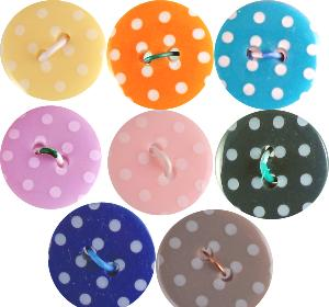 P1724 Spot Buttons 18mm size 28