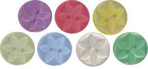 P86 Star buttons 14mm size 22