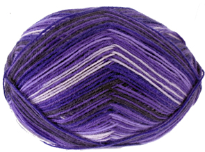 Woolcraft Superwash 4 ply sock yarn, 986