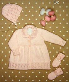Coat, bonnet , mitts Peter Pan 1153