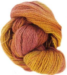 Alpaca 4 ply sock knitting yarn, Rose and Gold