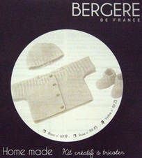 Bergere de France Baby Outfit knit kit 4