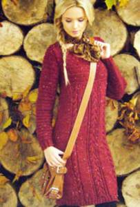 Sweater dress James Brett 100