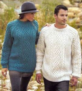 285717800427 Knitting patterns inc men and womans matching unisex