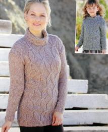 Sweater and Tunic Sirdar 9881